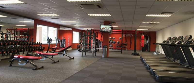 Khu Gym hiện đại tại căn hộ Lancaster Legacy Nguyễn Trãi