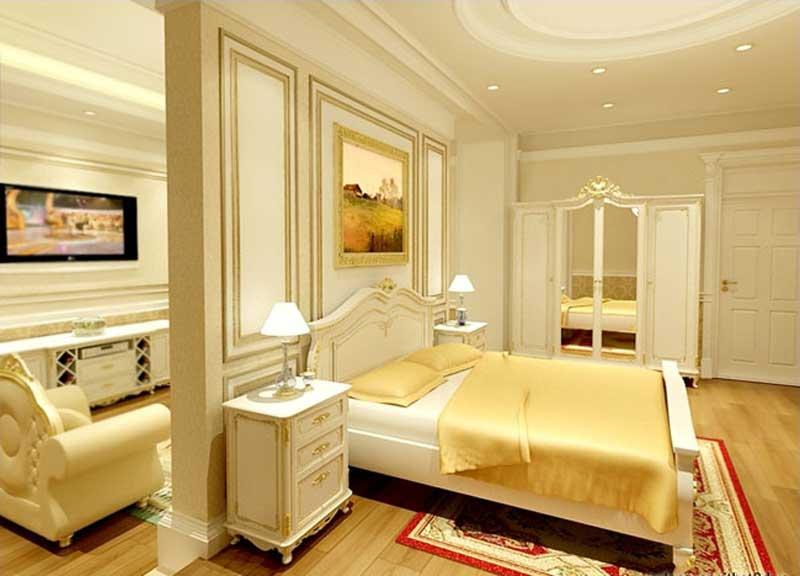 Thiết kế phòng ngủ căn hộ Lancaster Legacy Nguyễn Trãi