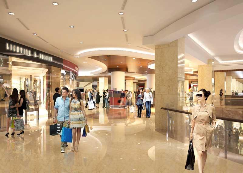 Hệ thống trung tâm thương mại tại dự án căn hộ Lancaster Nguyễn Trãi