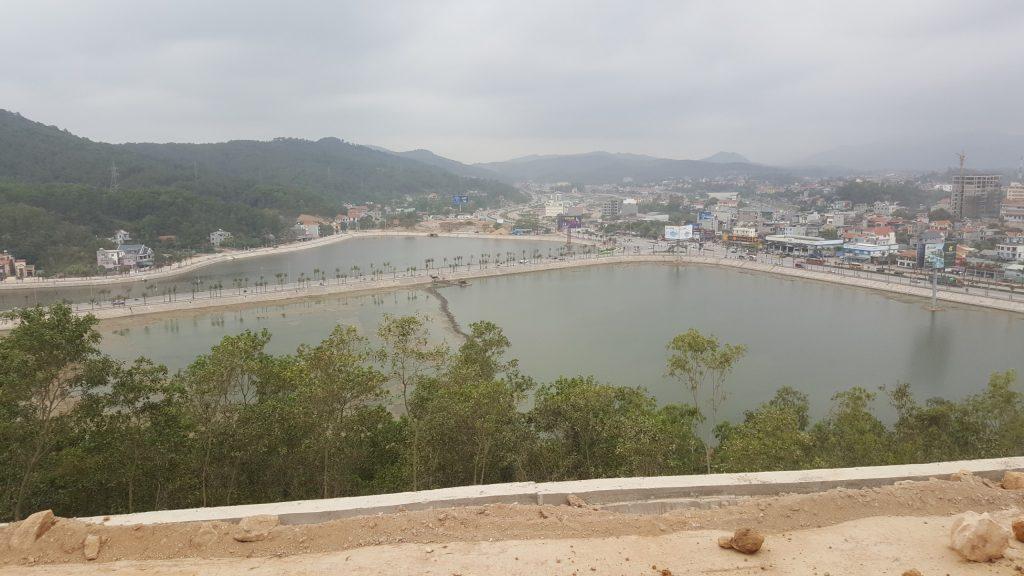 View hồ ao cá