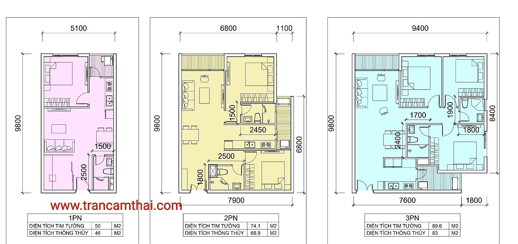 thiết kế căn hộ the elysium