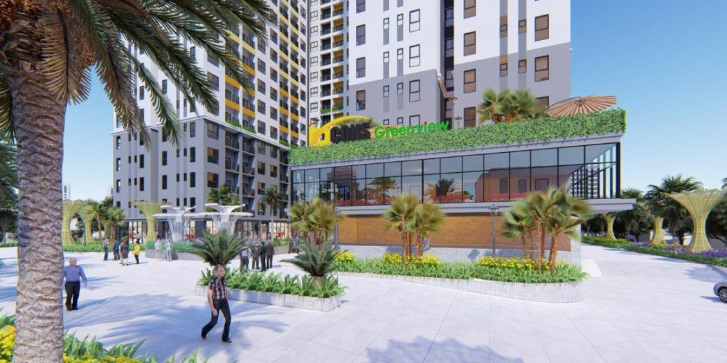 Dự án căn hộ Bcons Green View Bình Dương.