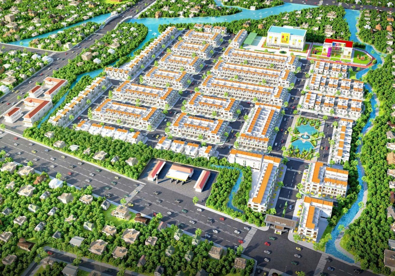Dự án Tân Lân Residence Long An hiện đại, tiện nghi
