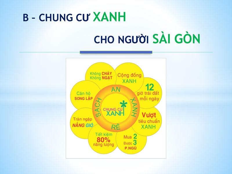 Chung cư Xanh dành cho người Sài Gòn