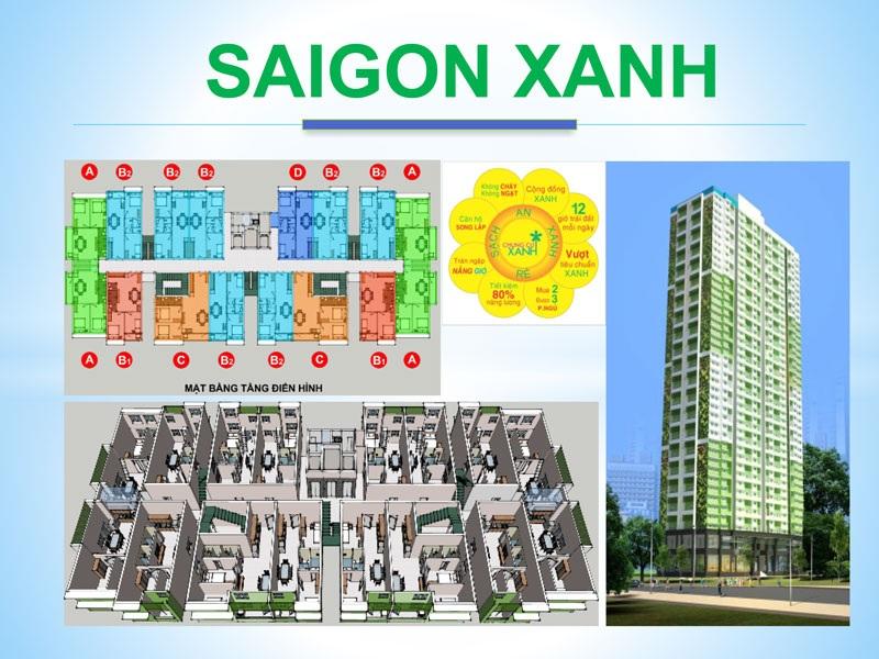Phối cảnh dự án Saigon Xanh Quận 8