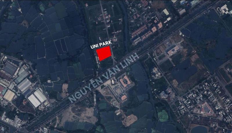 Vị trí dự án Uni Park Bình Chánh - 0903.305.333.
