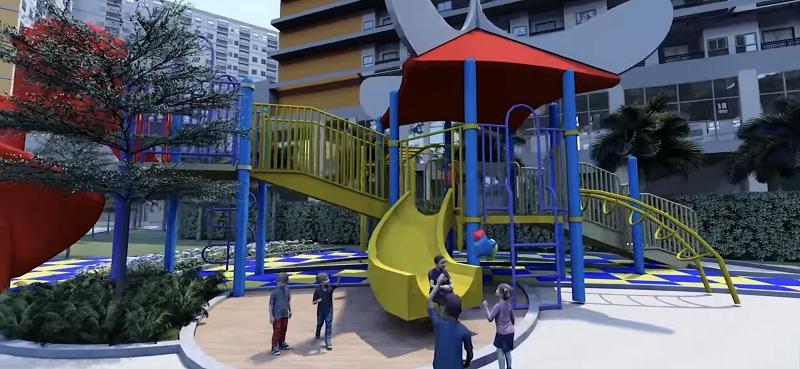 Khu vui chơi trẻ em tại dự án City Gate 3 - NBB 3