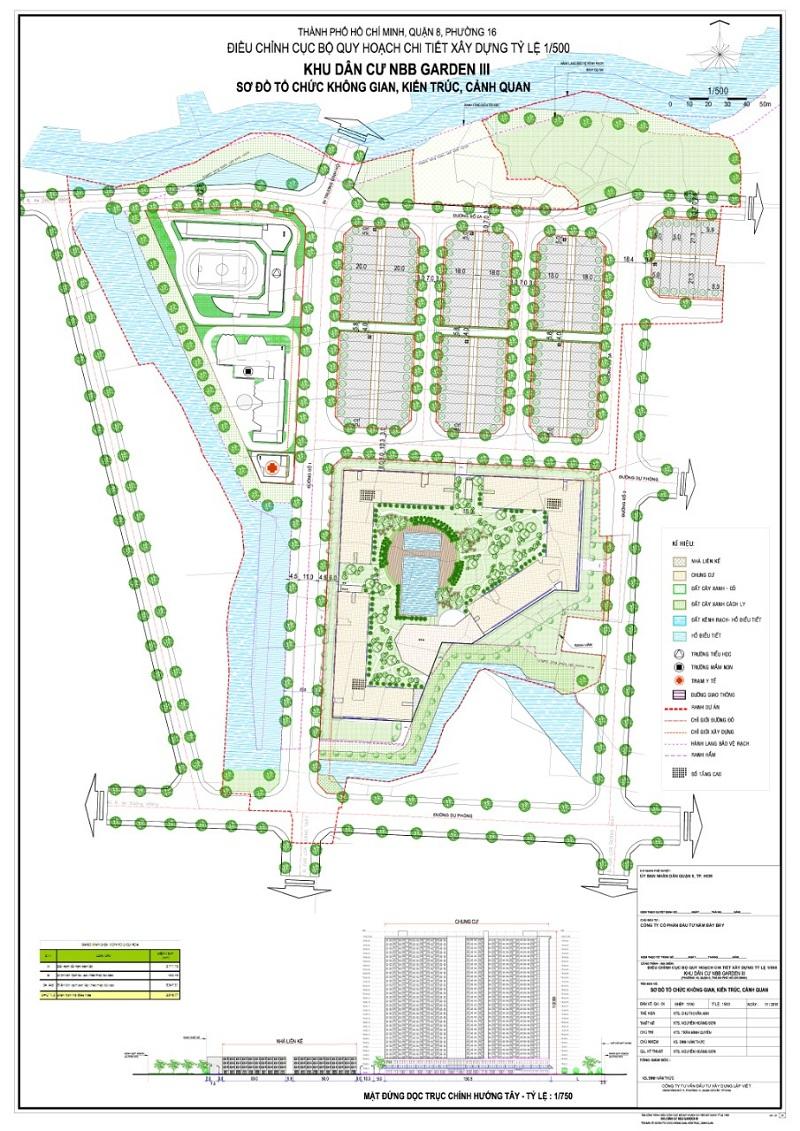 Mặt bằng tổng thể dự án City Gate 3 Quận 8
