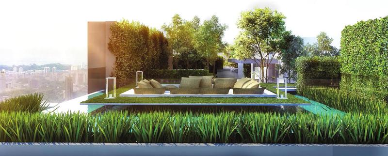Sky Garden tại Asiana Riverside.